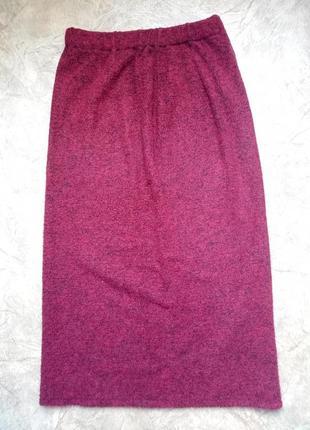 Длинная юбка на резинкке юбочка в пол макси довга спідниця