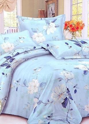 Постельное белье сатин цветы