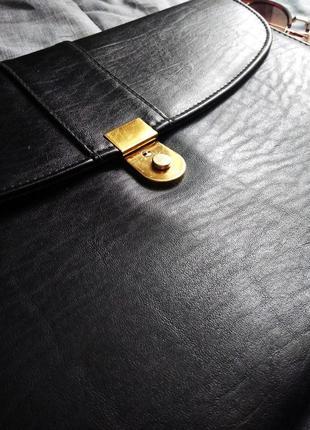 Стильный портфель marks & spencer сумка на замке как клатч