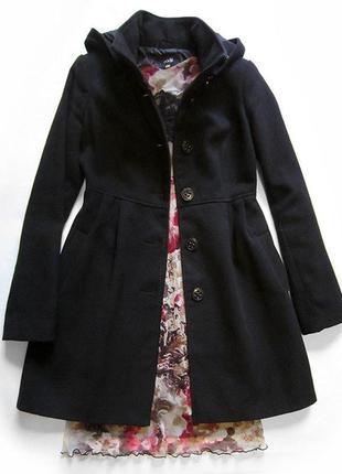 Демисезонное пальто на осень-весну oodji