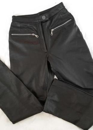 Кожаный штаны, натуральная кожа лайка