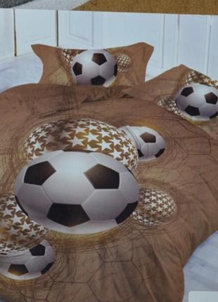 Качественные детские комплекты постельного белья полуторка фланель байка