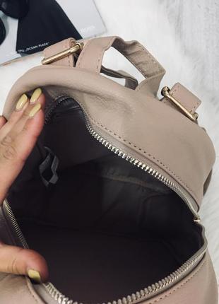 Рюкзак пудрового кольору від primark, новий🖤🖤🖤6 фото