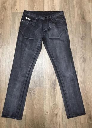 All saints rake zip black jeans джинсы штаны оригинал