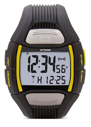 Mio stride спортивные часы из сша пульсометр шагомер двойное время