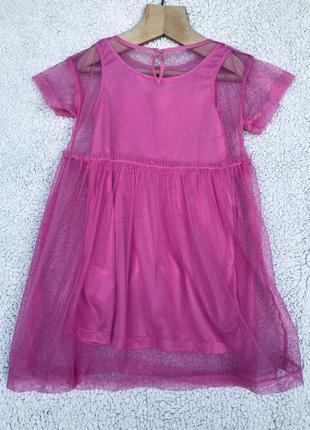 Шикарное платье н&м 3-5 лет6 фото