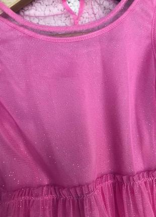 Шикарное платье н&м 3-5 лет7 фото