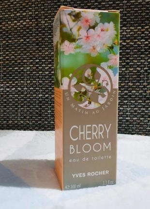 Великий розпродаж!!!туалетна вода вишневий цвіт 100 мл ів роше ив роше yves rocher
