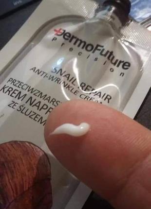 Відновлюючий крем для обличчя з муцином равлика