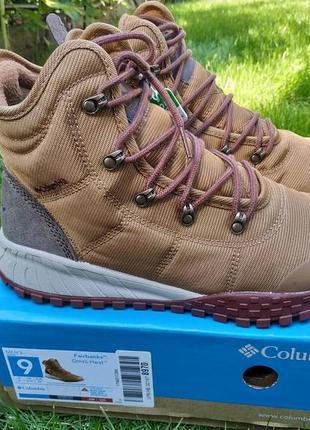 До -32°с! зимние ботинки сапоги columbia fairbanks omni-heat