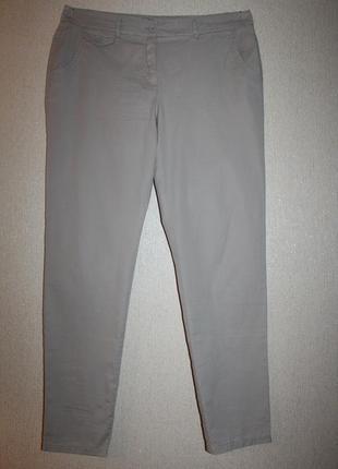 Стильные летние брюки-чиносы george