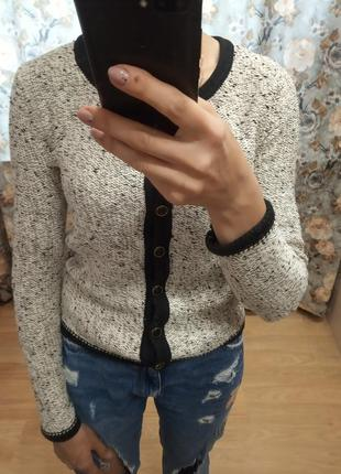 Крпсивая базовая кофта,кардиган блейзер жакет пиджак от top secret