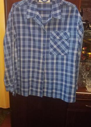 Рубашка женская хлопковая