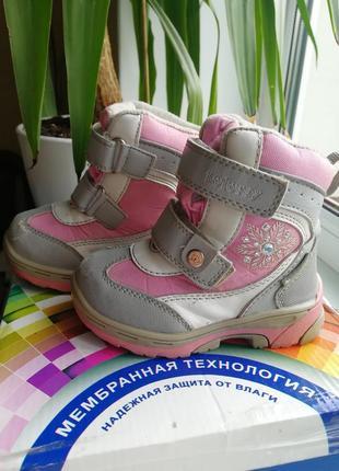 Зимние ботинки котофей