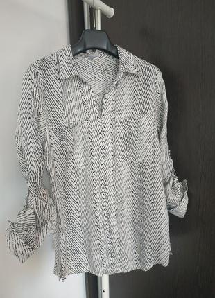 Льняная рубашка maddison pp 40
