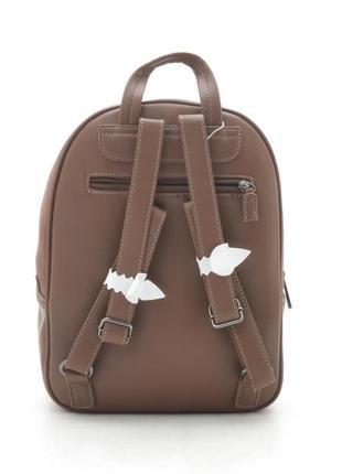 Новый женский городской коричневый рюкзак david jones2 фото