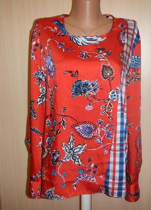 Блуза свободного кроя zara p.xl