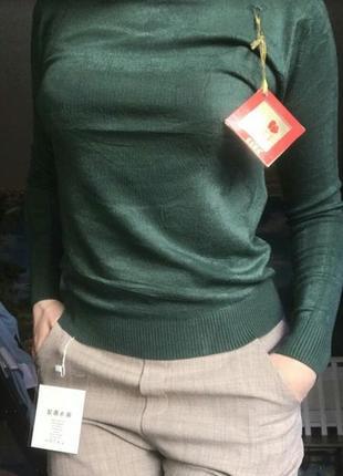 Гольф водолазка свитер воротник под горло кашемир турция