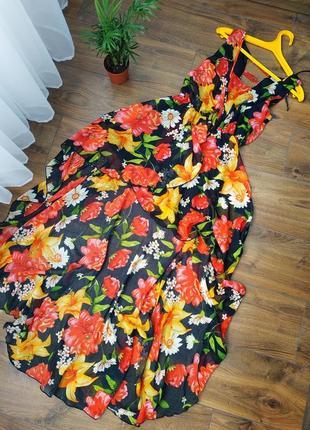 Платье перёд короче,сзад длинее)