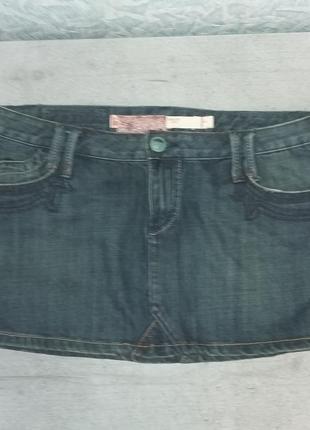 Юбка джинсовая, размер 42, fox