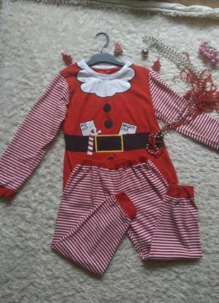 Пижама эльф санты