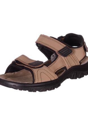Кожаные сандалии sana vital с амортизацией shok point - германия.