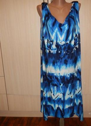 Платье батал etam р.48 (4xl)
