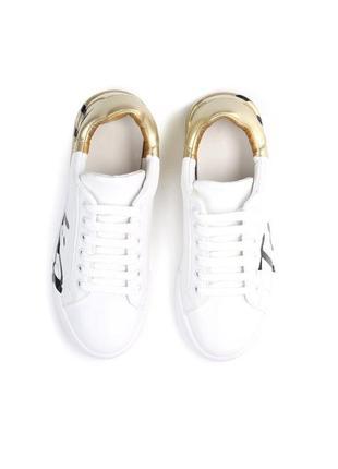 Новые шикарные женские белые кроссовки7 фото
