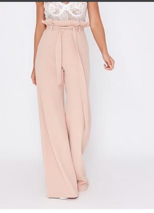 Шикарные брюки широкие высокая талия in the style p.12