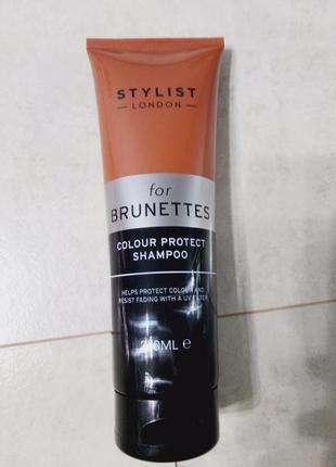 Шампунь для окрашенных волос, для брюнеток