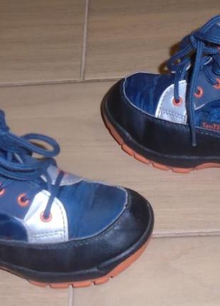 Ботинки ten tex 26 р демисезонные