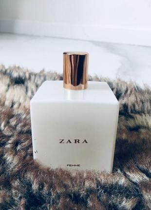 Zara femme 100 мл большая банка парфюм туалетная вода