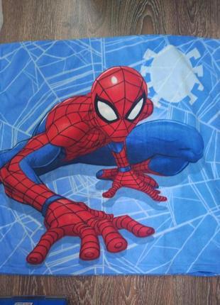 Большая наволочка спайдермен spiderman