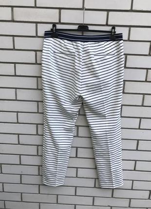 Очень красивые брюки,штаны в полосочку,морской стиль,хлопок, zara