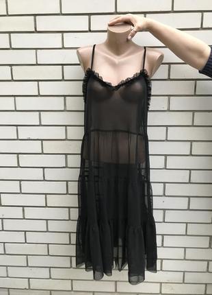 Прозрачное,секси платье,сарафан рюшами,воланами,открытая спина,большой размер,бохо стиль