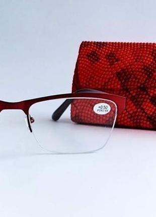 Женские очки полуободковые ( еае 9008)