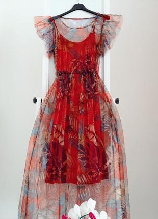 Красное платье италия