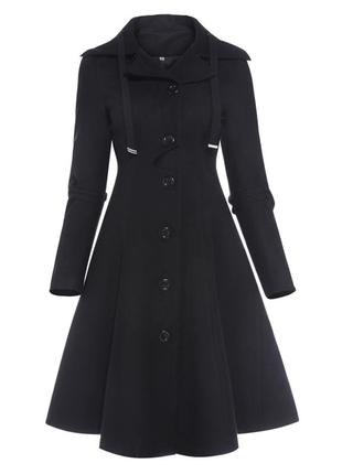 Стильное демисезонное классическое пальто!