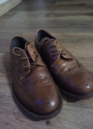 Туфли броги next 34-35 22см