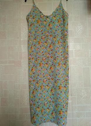 Платье сарафан maternity для беременных в цветочный принт
