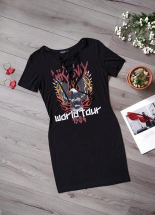 Плаття / платье / рок / з шнурівкою / phoenix / футболка