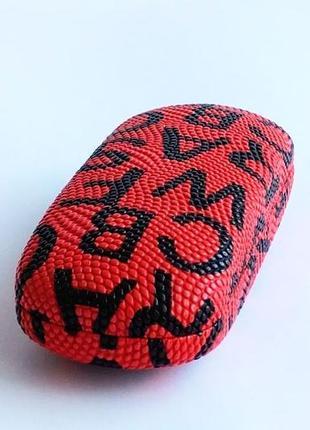 Женский красный чехол хлопушка для очков
