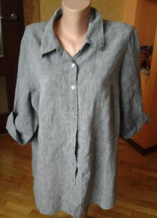 Льняная рубашка фирмы eastcoast