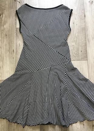 Платье миди женское в полоску topshop м