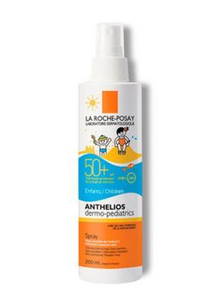 Солнцезащитный спрей для детей la roche-posay anthelios dermo-pediatrics spray spf 50+