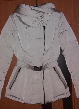 Куртка зимняя на пуху р. xs, zara