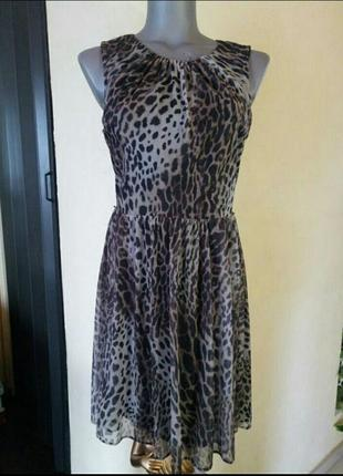 Финальная распродажа!трендовое платье в животный принт 3д рисунок