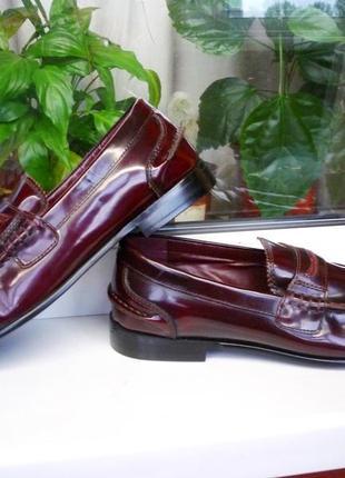 """Очень мягкие стильные  кожаные туфли """"momentum esquire""""! испания! 42 р."""