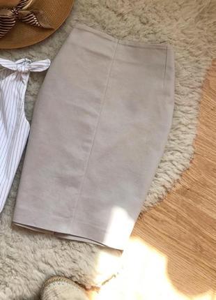 Юбка базовая классическая mango suit