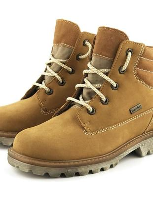 Утепленные кожаные ботинки richter (австрия)